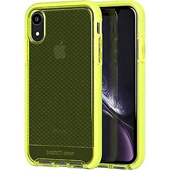 Tech21 Evo Check Protective Case for Apple iPhone XR - Neon Yellow