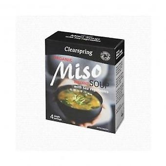 Clearspring - Instant Miso Soup Paste + Veg 4g