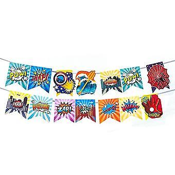new banner 1pcs-366 spider man iron man batman birthday party balloon for decoration sm17196