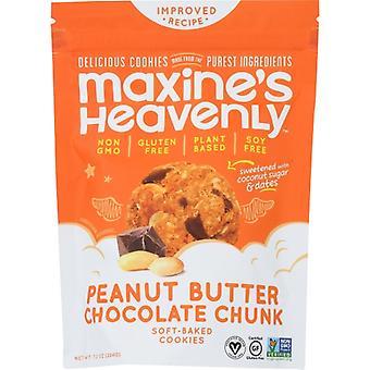 Maxines Heavenly Cookie Pnut Btr Choc Chnk, prípad 8 X 7.2 Oz