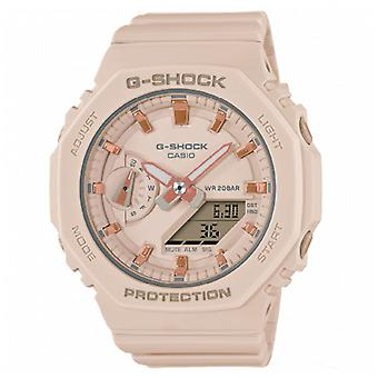 G-Shock Gma-s2100-4aer Mini Casioak Light Pink Silicone Watch