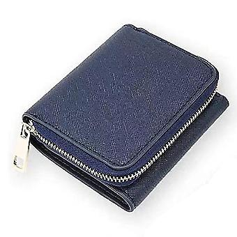 Leather ladies wallet short multi-card position first layer cowhide(Color-4)