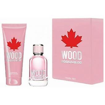 Dsquared2 Wood Pour Femme Giftset 2 peças 150 ml