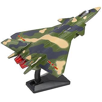 Diecast Vedä takaisin hävittäjä lelut kevyt ääni seos simulointi lentokoneet malli