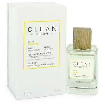 Clean Reserve Citron Fig By Clean Eau De Parfum Spray 3.4 Oz (women)