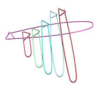 Monivärinen neulominen Neulos Clip Set - Neula Clip Craft Neulominen