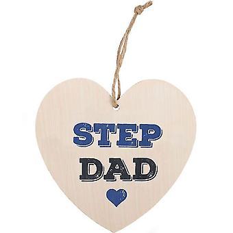 Step Dad Hängendes Herzzeichen