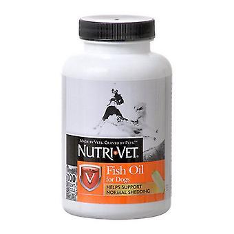 Nutri-Vet زيت السمك Softgels لل - 100 Softgels