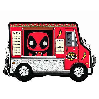 Loungefly Crossbody Bag Deadpool 30-årsjubileum Chimichangas Food Truck