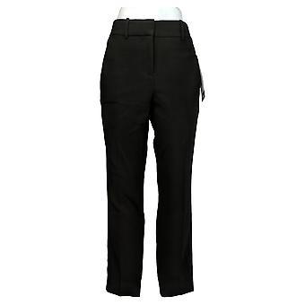 Kirkland Signature Women's Pants Ankle Trouser Black