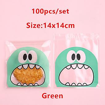 Big Mouth Transparent Plastic Bag Candy Bag Biscuit Candy Wedding Gift Wrapping Birthday