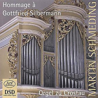 Bach / Homili / Schmeding - Hommage a Gottfried Silbermann [SACD] USA import