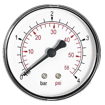 60mm 1,6-10 BAR Pressure Gauge water 1/4