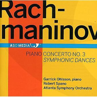 ラフマニノフ - ラフマニノフ: ピアノ協奏曲第 3;交響的舞曲 [CD] 米国をインポートします。