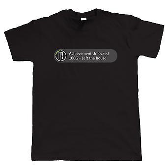Leistung entsperrt links das Haus, lustige Gamer T Shirt - Videospiel