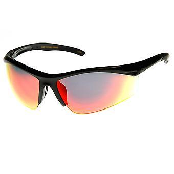 شبه مؤطرة تعمل رياضة ركوب الدراجات التفاف النظارات الشمسية عالية الجودة