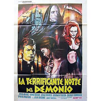 O Poster do filme pesadelo Devils (11 x 17)