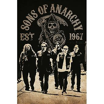 Sons of Anarchy - Reaper Crew Poster Poster Print
