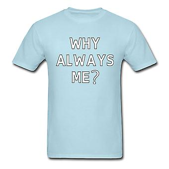 Mario Balotelli ¿Por qué siempre yo camiseta (azul)