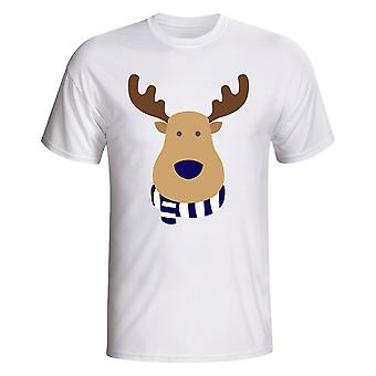Tottenham Rudolph Supporters T-shirt (wit)