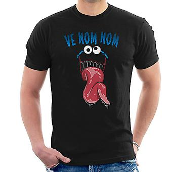 Cookie Monster Venom Mix Men's T-Shirt