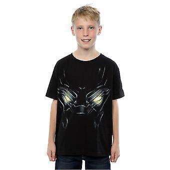 Marvel jungen schwarzen Panther Augen T-Shirt