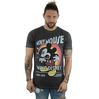 Aftershow muži ' s Mickey Mouse retro kričať T-shirt