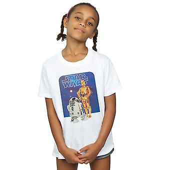 Star Wars Girls R2-D2 und C-3PO T-Shirt