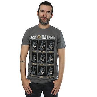 DC Comics mäns de många stämningarna av Batman T-Shirt