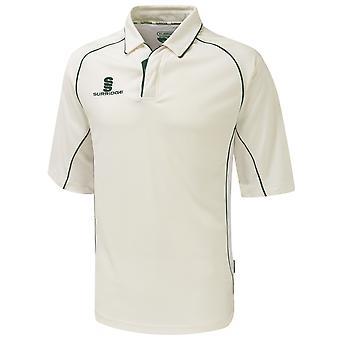 Surridge Mens/Youth Premier Sports 3/4 Sleeve Polo Shirt