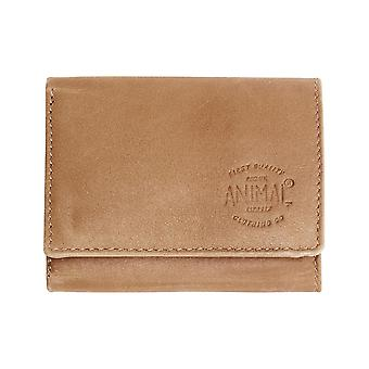 Animal Valiant Leather Wallet in Tan