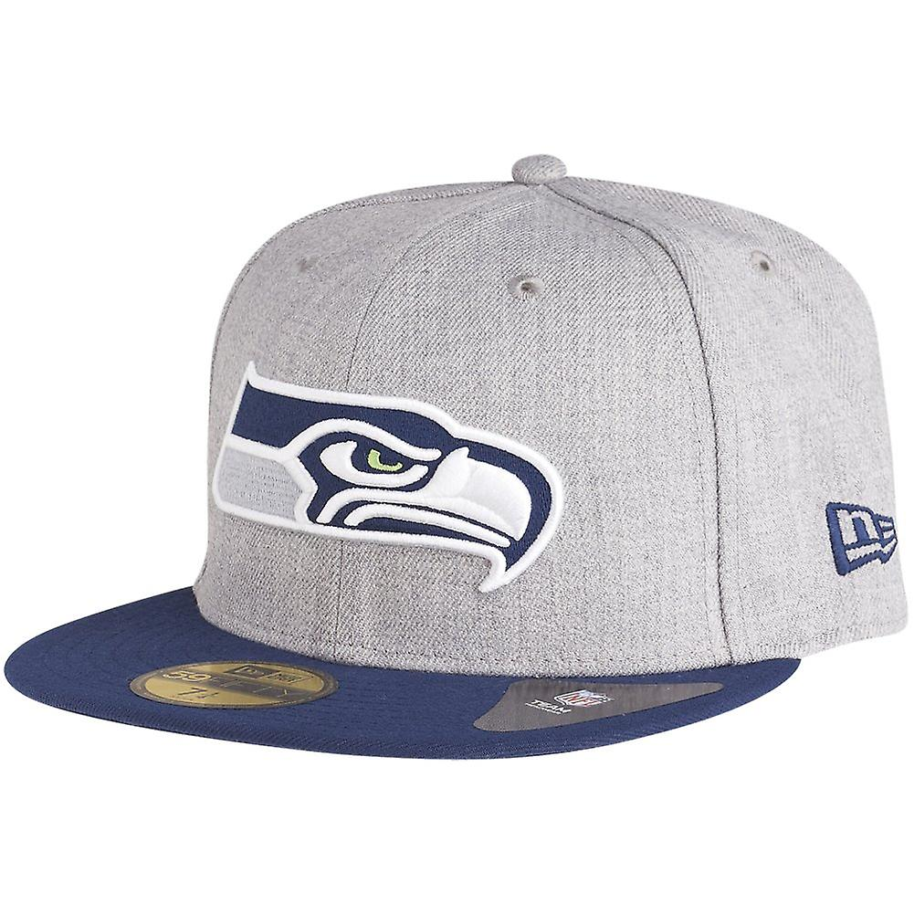 GRAPHITE Seattle Seahawks grau New Era 59Fifty Cap