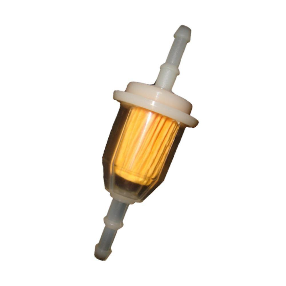 Universal In Line Inline 15 Micron Fuel Petrol Filter 6mm & 8mm Inlet, Outlet