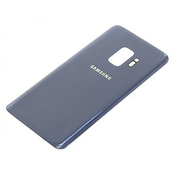 سامسونج غالاكسي S9 العودة زجاج أزرق