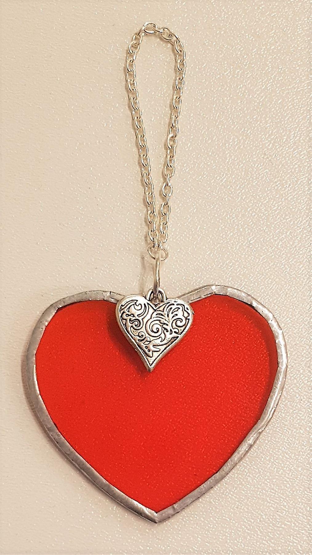 Simmerdim Design Small Orange Heart Heart