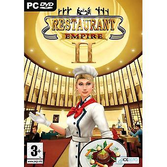 Restaurang Empire II (PC DVD)-ny