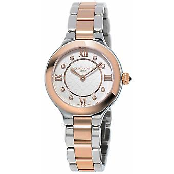 Frederique Constant Womans Classics Delight Steel Rose Gold Plated FC-200WHD1ER32B Watch