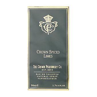 The Crown Perfumery Co. Crown Spiced Limes Eau de Toilette 1.7Oz/50ml New