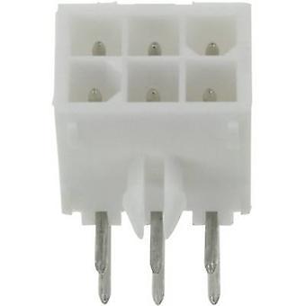 Invólucro de TE conectividade pino - número Total de PCB Mini-Universal-MATE-N-LOK de espaçamento de pinos 16 contato: 4,14 mm 1-770974-1 1 computador (es)