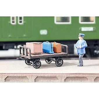 NOCH laserskurna minis® 14311 H0 bagage vagn