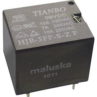 Tianbo Electronics HJR-3FF-24VDC-S-ZF PCB relay 24 V DC 15 A 1 change-over 1 pc(s)