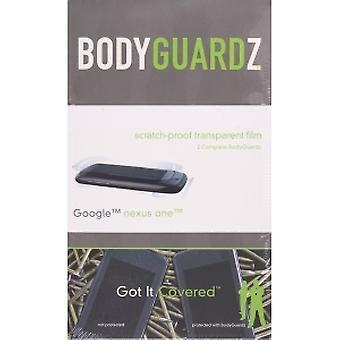 BodyGuardz - Screen Protector für HTC Google Nexus One - Körper & Bildschirm