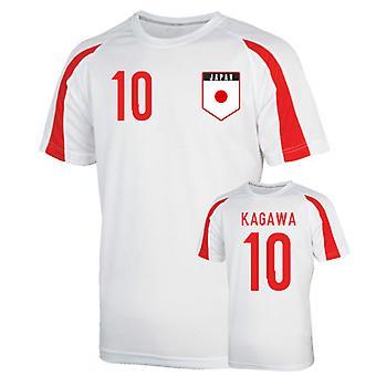 اليابان الرياضة التدريب جيرسي (كاغاوا 10)