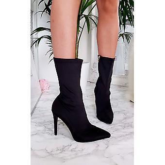 يكرا كاردي النسائي إيكروش كعب حذاء الكاحل