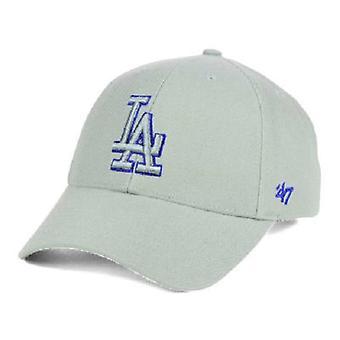 Dodgers de Los Angeles MLB 47 gris de marque Pop chapeau réglable