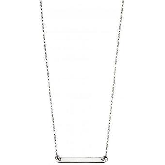 Начало идентификатор бар ожерелье - серебро