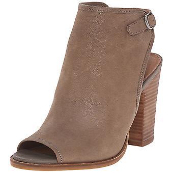 Gelukkig merk Womens lisza weefsel Peep Toe Casual Slingback sandalen