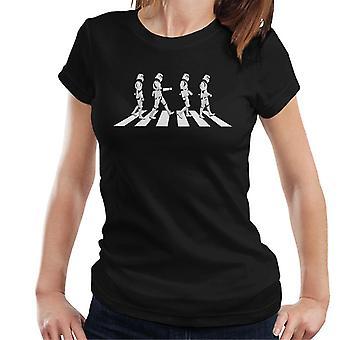 T-shirt original Stormtrooper Abbey Road feminino