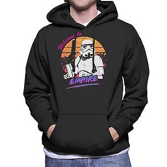 Original Stormtrooper Retro 80s Welcome To The Empire Men's Hooded Sweatshirt