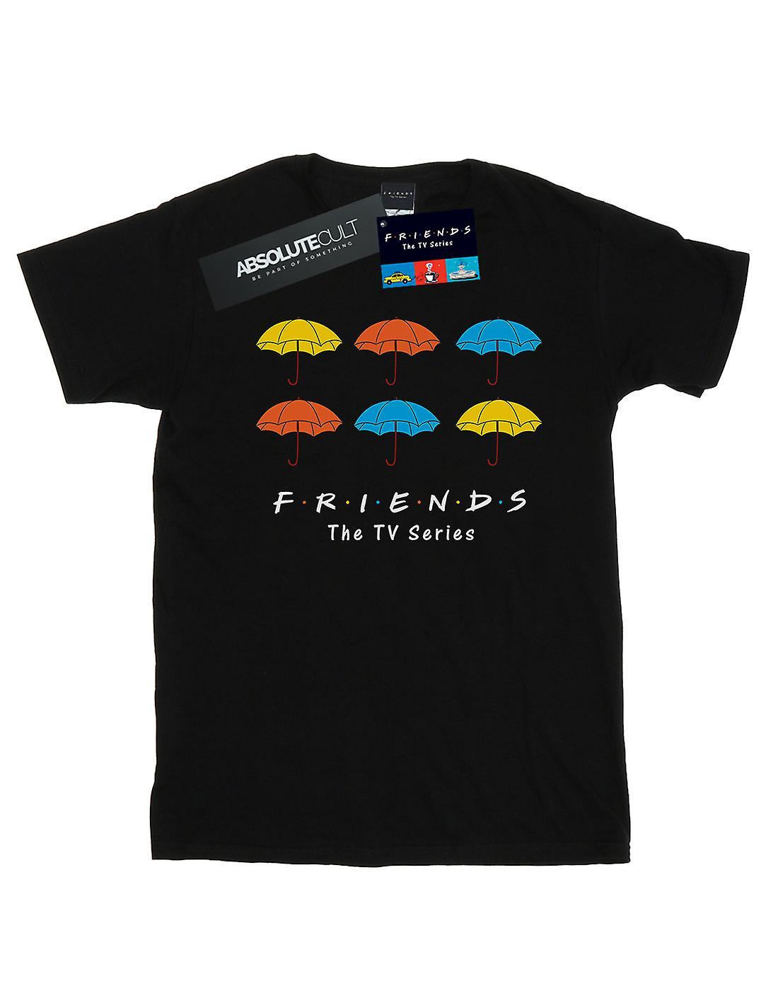 Friends Girls Coloured Umbrellas T-Shirt